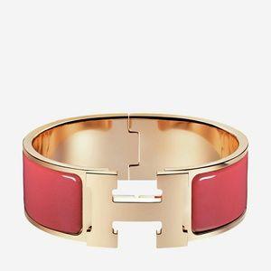 Hermes Jewelry   Clic Clac Bracelet   Poshmark 5a042618c7d